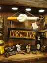 ノースモーキングの吊り下げ看板 ■ アメリカ雑貨 アメリカン雑貨 アメ雑貨 アメ雑