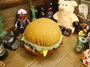 ぶるぶるハンバーガーでリラックス♪ハンバーガークッション(バイブレーション付き)