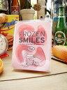 冷たく冷えた入れ歯がジュースの中に!?入れ歯アイス