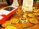 大阪は通天閣の名物神様、ビリケンさん!ラッキービリケンゴールドの携帯ストラップ ★大阪土産★大阪名物★アメリカ雑貨★アメリカン雑貨