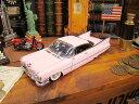 1959年ピンクキャデラックのダイキャストモデルカー 1/24スケール ★アメリカ雑貨★アメリカン雑貨