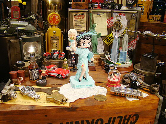 【FUNKO】ファンコ自由の女神ベティのボビンヘッド★アメリカ雑貨★アメリカン雑貨