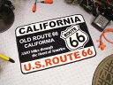 ヒストリックルート66のインテリアマット(カリフォルニア) ...