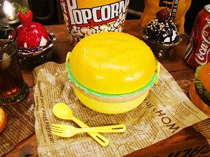 ハンバーガーランチボックス アメリカ アメリカン