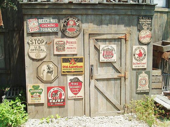 昔のアドバタイジングのウッドサイン(ウォッチ)■木製ウッドアメリカ看板サインプレートサインボードアンティークアメリカン雑貨アメリカン雑貨