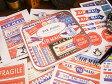 エアメールのラベルステッカーセット ■ アメリカ雑貨 アメリカン雑貨 通販