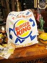 アメリカンキンチャク袋 Lサイズ(バーガーキング) ■ アメリカ 雑貨 通販 アメリカ雑貨 アメリカ