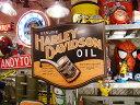 【全国送料無料】ハーレーダビッドソン オイル缶ヴィンテージサイン ■ アメリカ雑貨 アメリカン雑貨 harley davidson 鉄馬 壁面装飾 装飾 飾り ディスプレイ 内装 人気 ウォールデコレーション