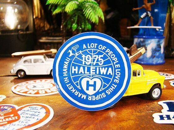 ハレイワスーパーマーケットのステッカー(1975)★ハワイ雑貨★アメリカ雑貨★アメリカン雑貨