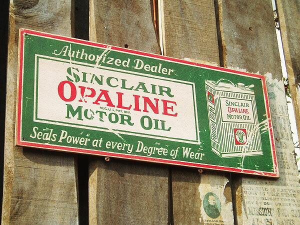 新品だけど「味」がある、木製看板。昔のアドバタ...の紹介画像2