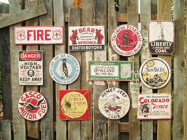 新品だけど「味」がある、木製看板。昔のアドバタ...の紹介画像3