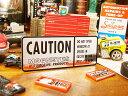 ムーンアイズのコーションステッカー ■ ムーンアイズ ステッカー アメリカ雑貨 アメリカン雑貨 MO