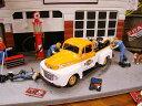 マイスト 1948年ハーレーフォード・F1ピックアップのダイキャストモデルカー 1/24スケール(オレンジ×ホワイト) ■ アメリカ雑貨 アメリカン雑貨