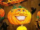 【即納】【在庫あり】クレイジーパンプキンのウォールデコ ■ ハロウィン グッズ 雑貨 飾り かぼちゃ カボチャ ジャック・オ・ランタン ジャコランタン ジャック...