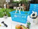 U.S.エアフォースのマーケットバスケット(Lサイズ) ■ アメリカ雑貨マイカゴ■アメリカン雑貨買い物カゴ