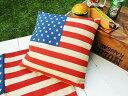 星条旗のクッション  ■  アメリカ雑貨 アメリカン雑貨 クッション 西海岸 アメリカ 欧米 人気 おしゃれ 四角 かわいい