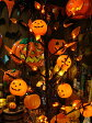 ジャラジャラライトが飾りつけの定番!ハロウィン 10連パンプキンパーティライト ■ ハロウィン グッズ 雑貨 飾り かぼちゃ カボチャ ジャック・オ・ランタン ジャコランタン ジャックオーランタン ディスプレイ ハロウィーン パーティー アメリカン雑貨 照明 おしゃれ