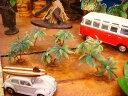 南の島のヤシの木のオブジェ(6個入り/ミニミニ6個) ■ アメリカ雑貨 アメリカン雑貨 アメリカ 雑貨ハワイ雑貨 ハワイアン 雑貨 インテリア 人気 小物 カー用品 パームツリー 椰子の樹 車 カーアクセサリー アクセント おしゃれ おもしろ 装飾 アメリカ雑貨屋