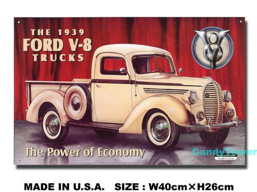 アメリカンブリキ看板 ピックアップ -Ford '39 Pickup-