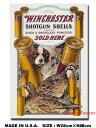 アメリカ ブリキ看板 ウィンチェスター -Dog & Quail-