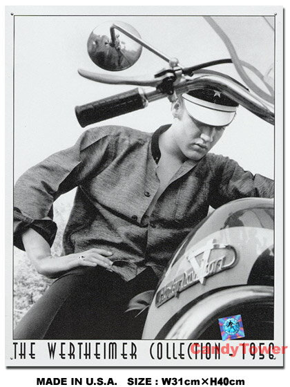 アメリカ ブリキ看板 エルビス・プレスリー -ハ...の商品画像