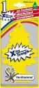 BIGリトルツリー X-tra Strength(バニラロマ) Little Trees MADE IN U.S.A. ■ エアーフレッシュナー エアフレ アメリカ雑貨 アメリカン雑貨 トイレ 芳香剤 部屋 車 匂い 吊り下げ カーフレッシュナー 女性 かわいい 消臭 おしゃれ カーアクセサリー