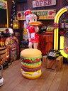 アメ雑貨好きが選ぶとイスはこうなる!ハンバーガーチェアー ■...