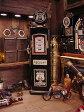 「部屋にガスポンプを置きたい!」って夢、叶えます♪ルート66のガスポンプCDタワー 「楽天1位」 ■ アメリカ雑貨 アメリカン雑貨 キャビネット おもしろ雑貨 おもしろグッズ おしゃれ CDラック 人気 オーディオ収納 インテリア雑貨 かっこいい
