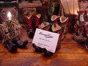ウエスタンブーツのカードホルダー 4個セット ■ アメリカ雑貨 アメリカン雑貨 ウエスタングッズ