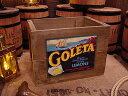 クレートラベルボックス Lサイズ NO.14 GOLETA ■ アンティーク風木箱 木箱 小物入れ ガーデニング ケース ボックス 通販 ワイン 収納 ..