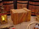 輸出用木箱 Bタイプ うす茶 Mサイズ ■ 「楽天1位」 ■ アンティーク風木箱 木箱 小物入れ ガーデニング ケース 小物 ボックス 通販 ワイン 収納 アン...
