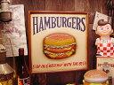 RoomClip商品情報 - ハンバーガーの木製看板 ■ こだわり派が夢中になる!人気のアメリカ雑貨屋 通販 アメリカ雑貨 アメリカン雑貨 インテリア雑貨 カッコイイ男の部屋!おしゃれ 人気 生活雑貨 壁掛け 壁飾り