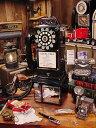 アメリカの公衆電話機型テレフォン(1957年モデル)レトロブラック ★アメリカ雑貨★アメリカン雑貨