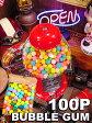 ガムボールマシンのガム 100P入り ■ アメリカ雑貨 アメリカン雑貨 通販