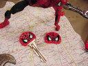 スパイダーマンキーカバー 2個セット ■アメリカン雑貨 アメリカ雑貨 アメキャラ アメコミ アメリカ 雑貨 インテリア