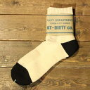 AT-DIRTYBOOTS SOCKS (SHORT TYPE)NATURAL【AT-DIRTY】(アットダーティー)正規取扱店(Official Dealer)Cannon Ball(キャノンボール)【あす楽対応】