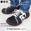 リゲッタ カヌー メンズ 靴 シューズ CJFS6901 ロゴポイント フェイクレザー スニーカ