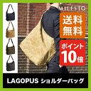 MILESTO ミレスト LAGOPUS ラゴパス ショルダーバッグ【ポイント10倍】 【送料無料】