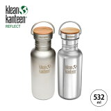 Klean Kanteen �����ƥ����� REFLECT ��ե쥯�� 532ml (18oz) ���� �����Ȥ� �ܥȥ� ���ƥ�쥹�ܥȥ� 18 gwt ����å� ����ܥȥ� ��������ɥ��� A&F �֥�å��� �ߥ顼 ����ƥ�����ܥȥ� ������� ľ��� ���ƥ�쥹 SALE ������