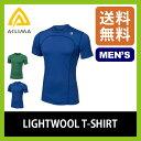 アクリマ ライトウールTシャツ メンズ【正規品】 ACLIMA Tシャツ インナー 消臭 通気性 ベースレイヤー アンダーウェア メリノウール100% オールシーズン 通年性 アウトドア ランニング サイクリン SALE セール