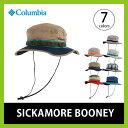 コロンビア シッカモア ブーニーシッカモアブーニー|ハット|帽子|メンズ|レディース|デニム|ヒッコリー|HAT|チェック|UVカット|アウトドア|キャンプ