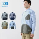カリマー ハイブリッドシャツ L/S 【正規品】karrimor シャツ 長袖 男性 メンズ hybrid shirts L/S