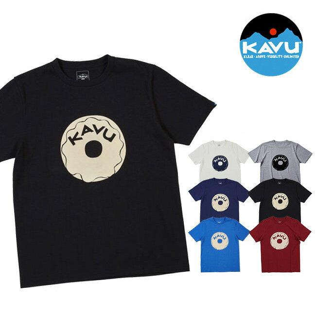 カブー ドーナッツTee KAVU Tシャツ 半袖 男性 メンズ Doughnut Tee