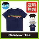 <残りわずか!>カブー レインボーTee 【送料無料】 【正規品】KAVU Tシャツ 半袖 男性 メンズ Rainbow Tee