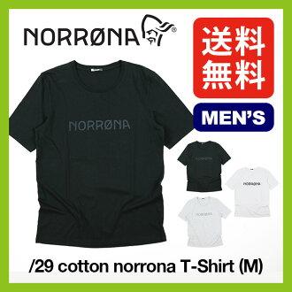 迪諾羅尼亞 29 棉花迪諾羅尼亞 T 襯衫男裝 [免運費] [普通版] Norrona T 襯衫層短袖男人 29 棉 t 恤 (M) norrona