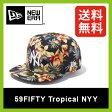 【30%OFF】 <2016年春夏新作!>ニューエラ 59FIFTY トロピカル ニューヨークヤンキース【送料無料】【正規品】NEW ERA 帽子 キャップ