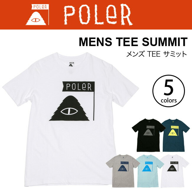 ポーラー CAMPING STUFF SUMMIT TEE