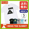 【10%OFF】<2016年春夏新作!>ポーラー メンズTEE サミット【送料無料】【正規品】POLER|Tシャツ|半袖|男性|メンズ|MENS TEE SUMMIT
