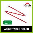 MSR アジャスタブルポール 4ft(2本セット) 【送料無料】 【正規品】