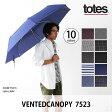トーツ ベンテッドキャノピー 7523【送料無料】【正規品】totes|傘|自動開閉|折畳|雨具|レイングッツ|かさ|カサ 5800